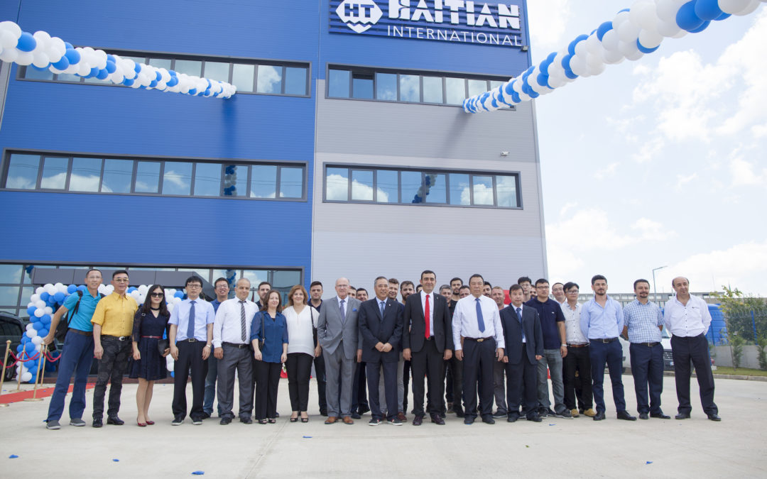 Grand Opening of New Plant in Haitian Turkey